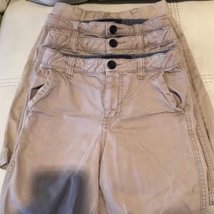 Boys uniform khaki shorts size 7